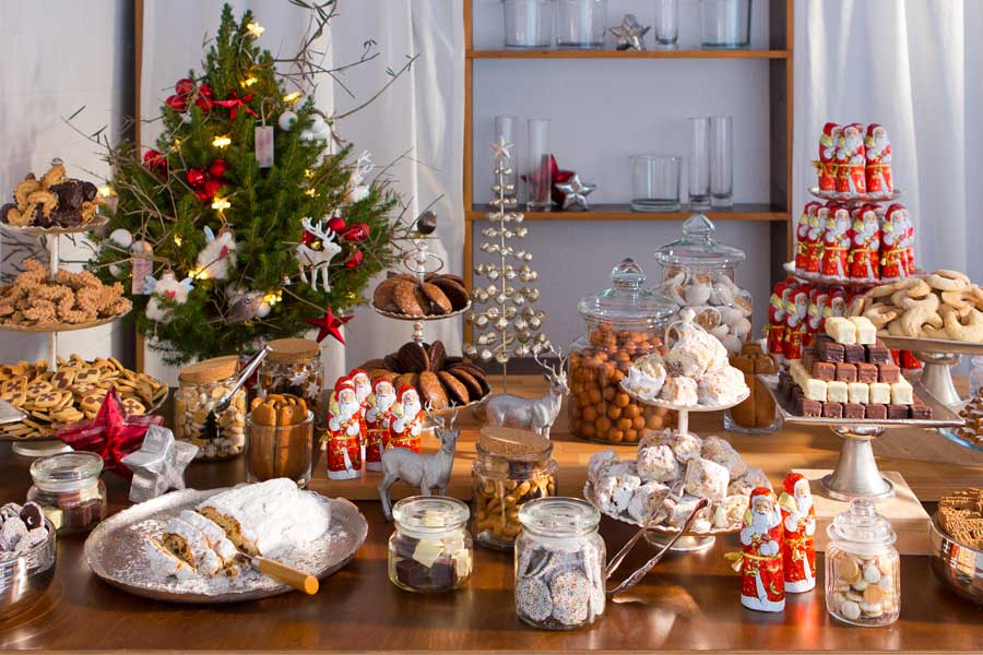 christmas candy buffet catalogna cologne catering germany. Black Bedroom Furniture Sets. Home Design Ideas